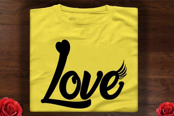 love svg, love BW