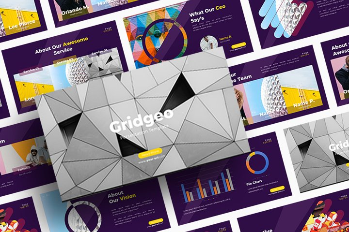 Gridgeo - Powerpoint Template
