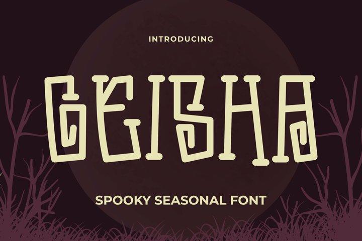 Geisha Font