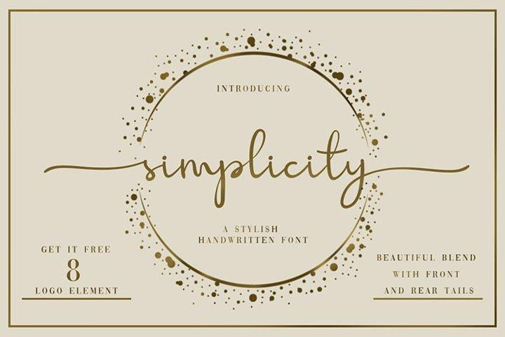 Simplicity Handwritten Font