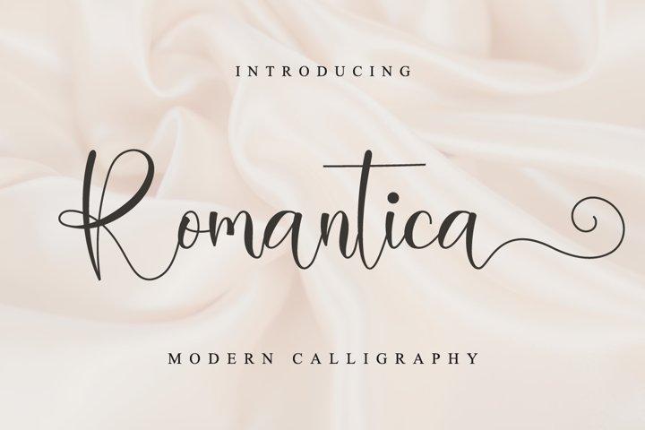 Romantica Script