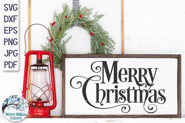 Merry Christmas SVG | Christmas Script SVG