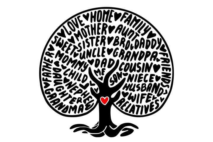 Free Svgs Download Family Tree Svg Family Svg Family Svg Sayings Our Nest Svg Family Sign Svg Home Svg Tree Svg Lettering Svg Svg Files Svg Cricut Free Design Resources