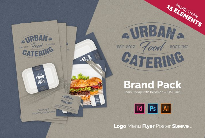 Urban Food Catering - Brand Pack