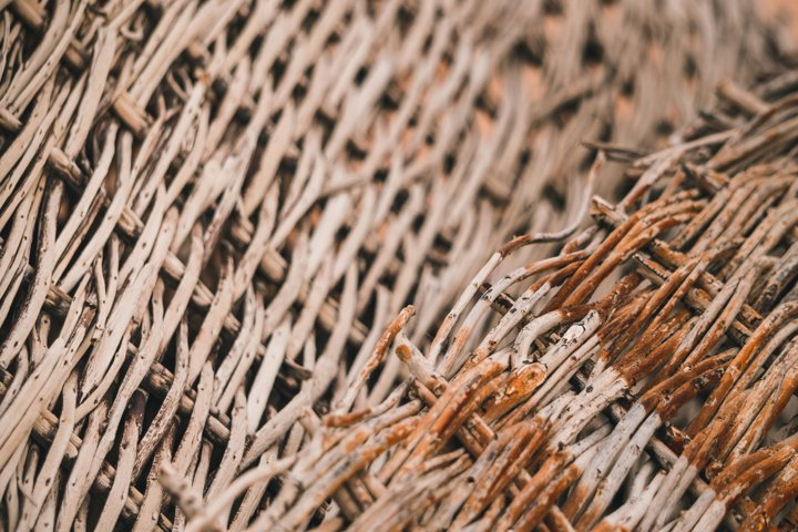 Wicker Willow Branches Texture