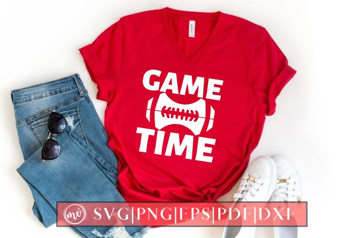 Game Time SVG Design Cut File