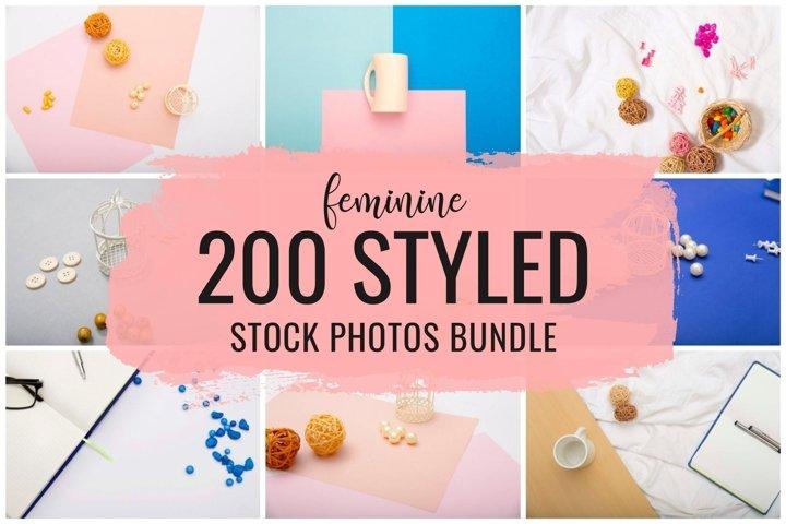 Feminine Styled Stock Photos Bundle