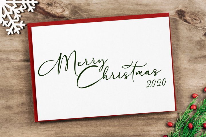 Merry Christmas 2020 Cut File - SVG & PNG
