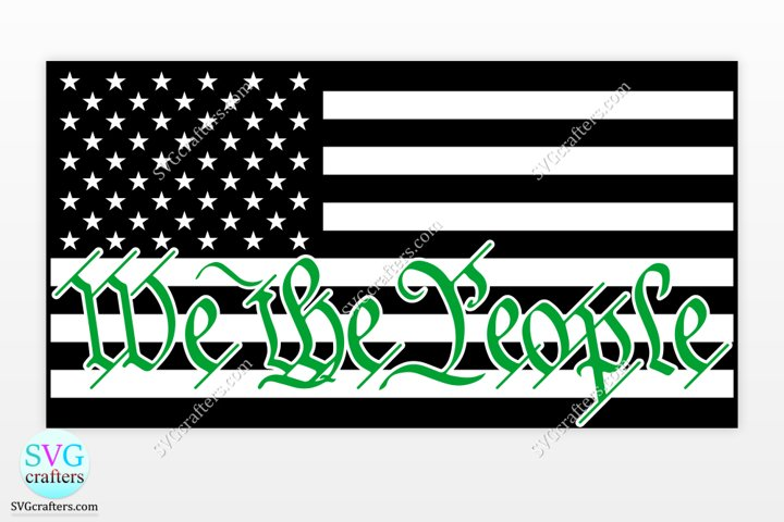 American Thin Green Line svg, Military svg, army svg
