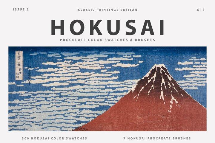Hokusais Art Procreate Brushes