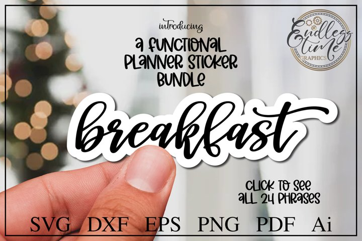 Printable Stickers - A Functional Planner Sticker Bundle