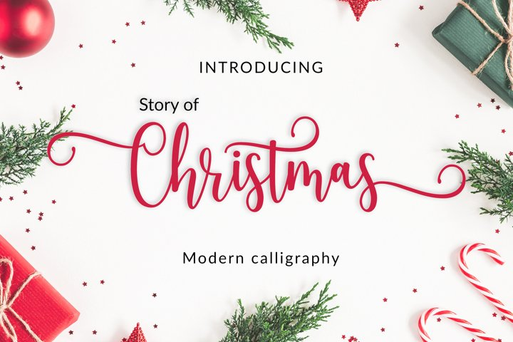 Story of Christmas | WEB FONT