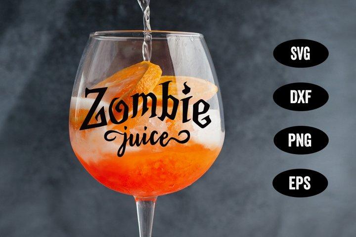 Halloween SVG, Zombie SVG, Halloween Wine Glass SVG