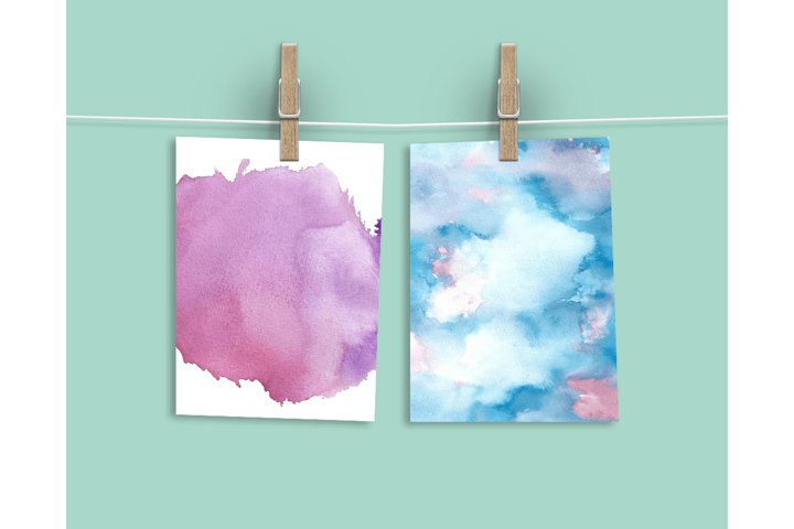 Watercolor Textures - card edition - Free Design of The Week Design7