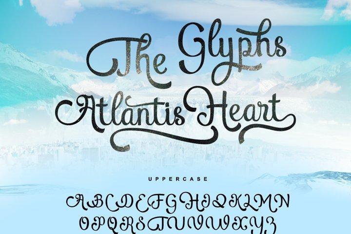 Atlantis Heart - Free Font of The Week Design7