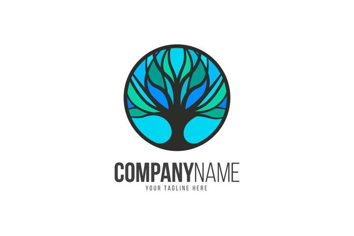 Tree Blue Logo