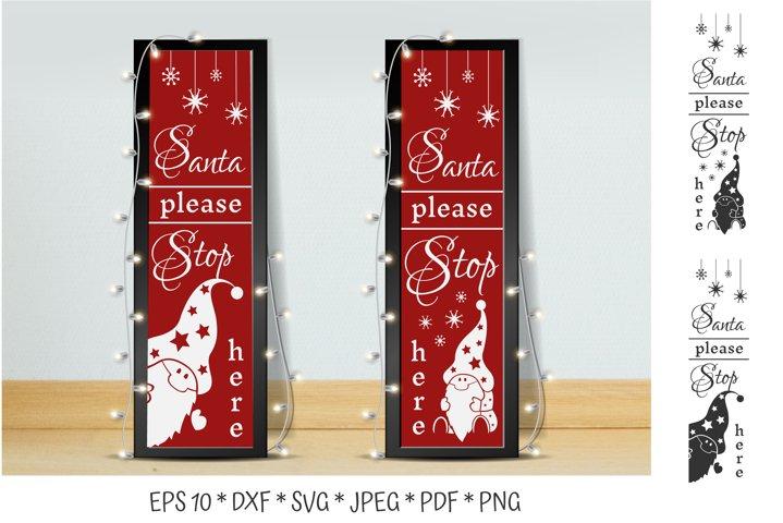 Christmas Porch Signs SVG. Christmas gnomes. Gnomes SVG.