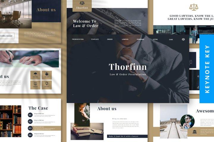 Thorfinn Lawyer Presentation Template