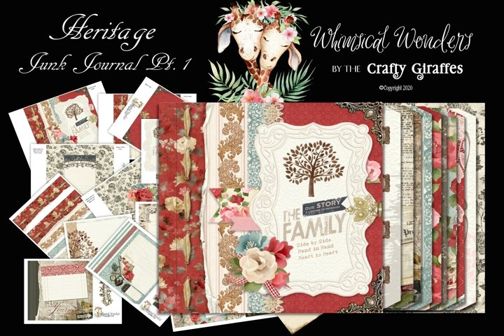 Heritage Junk Journal Pt. 1