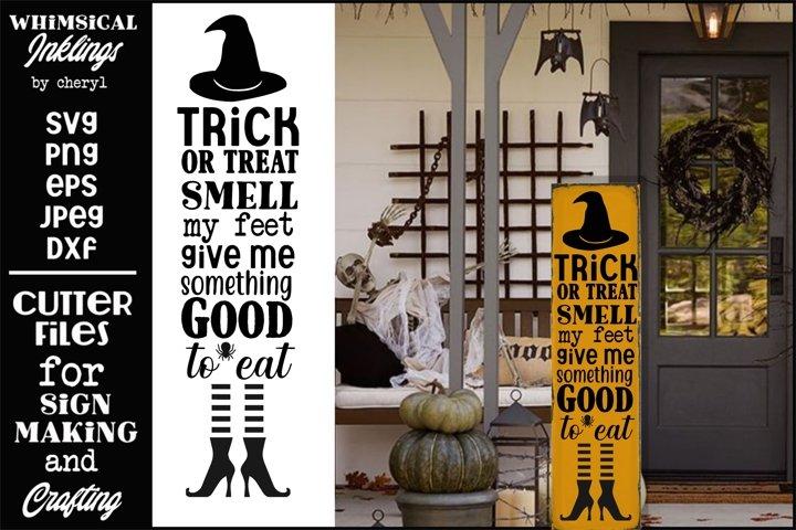 Smell My Feet-Vertical Halloween SVG