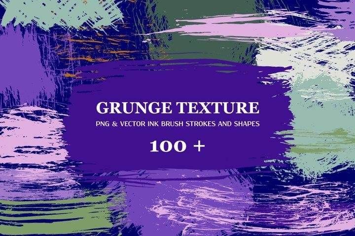 Vector Grunge Texture PNG & Vector