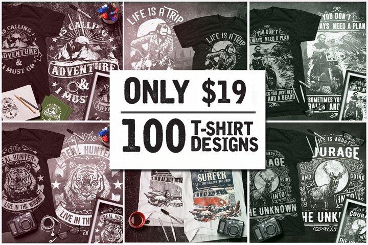 T-Shirt Design Mega Collection