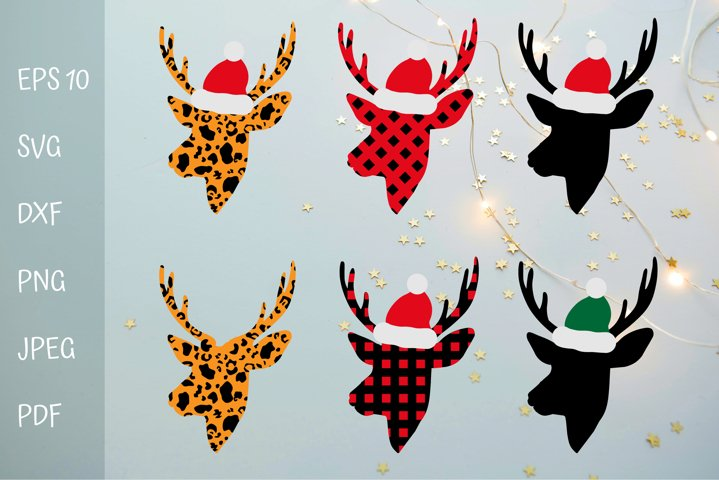 Christmas reindeer designs. Christmas t shirt design.
