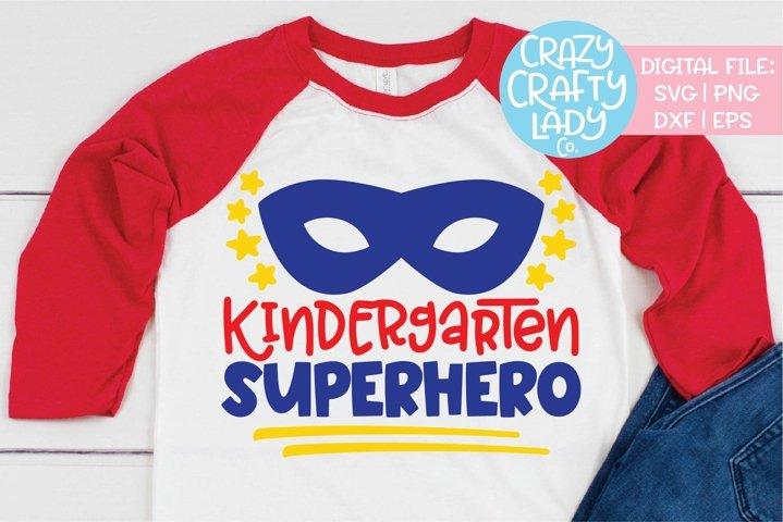 Kindergarten Superhero SVG DXF EPS PNG Cut File