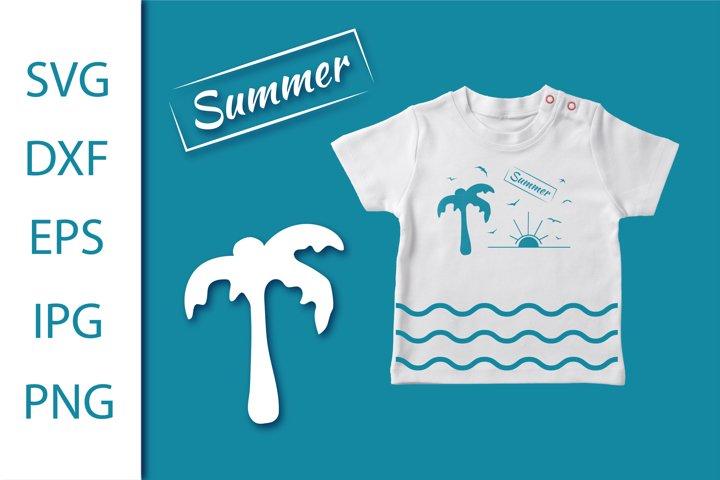 Beach,Summer bundle svg. Craft svg. Palma,Sun svg. Gull svg