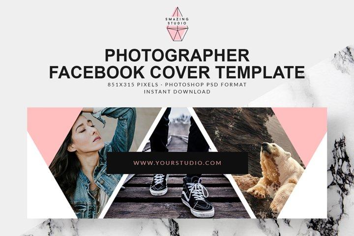 Photographer Facebook Cover Template - FBC004
