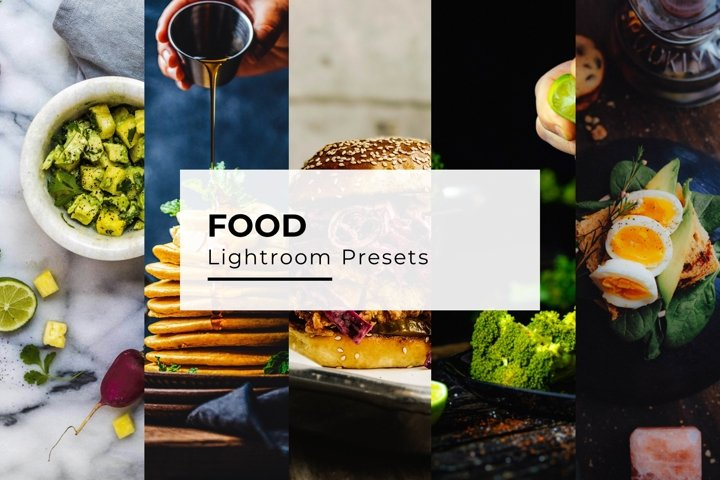 10 Food Lightroom Presets
