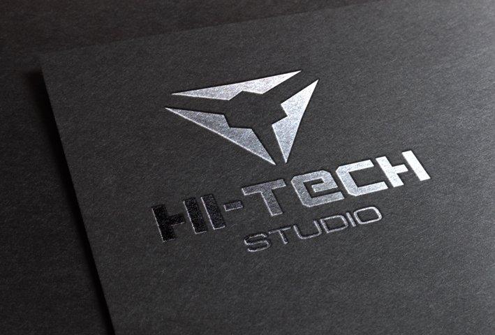 Modern Hi-Tech Logo example 3