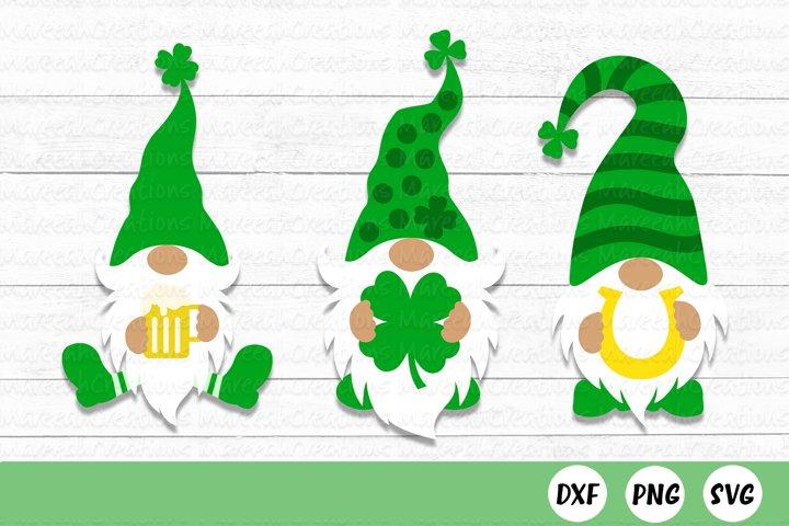St. Patricks Day Gnome SVG Bundle