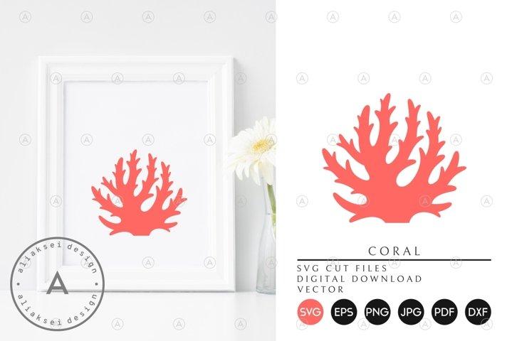 Pink Coral SVG