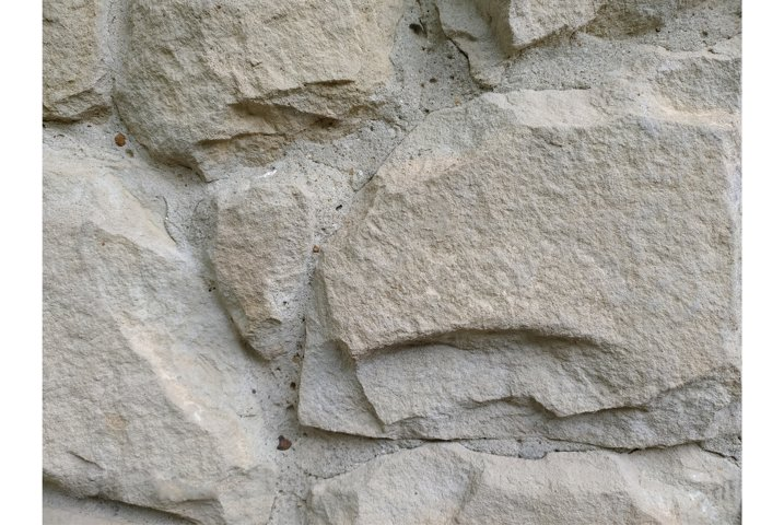 Grey stone cement wall background stonewall rubble facade
