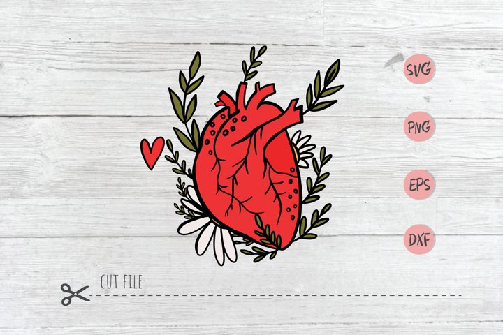 Valentines Day SVG file, Hearts SVG file, Valentines cut fil