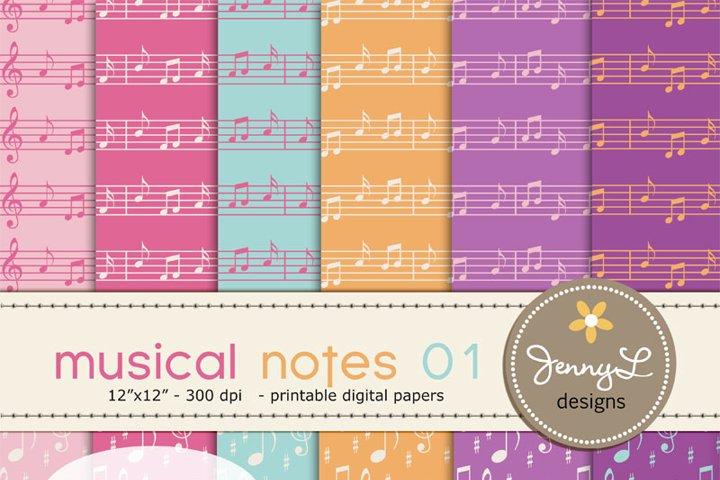 Musical Music Digital Papers
