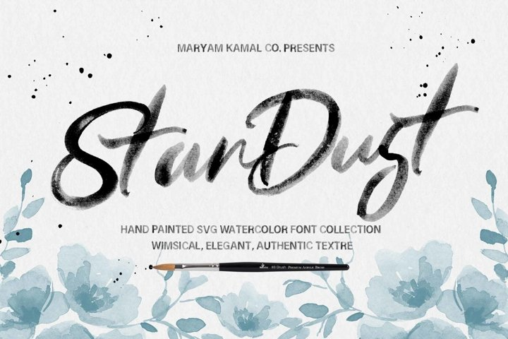 The Stardust Font Collection
