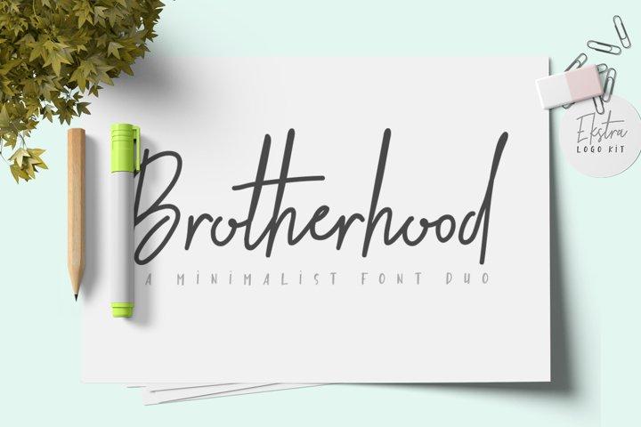 Brotherhood Font Duo + Ekstra