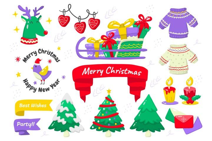 Christmas Elements Vol.13