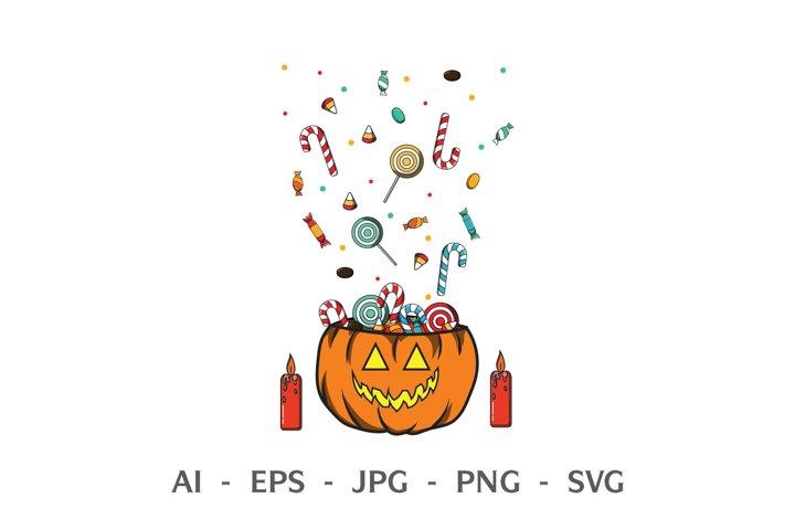 Candy clip art SVG