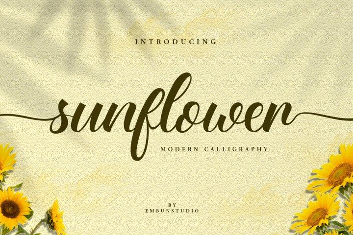 Sunflower Beauty Script