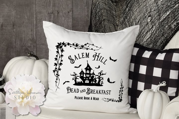 SALEM HILL DEAD AND BREAKFAST - SVG, PNG, DXF and EPS