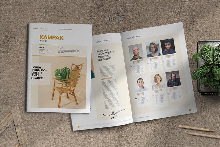 Kampak | Magazine Template