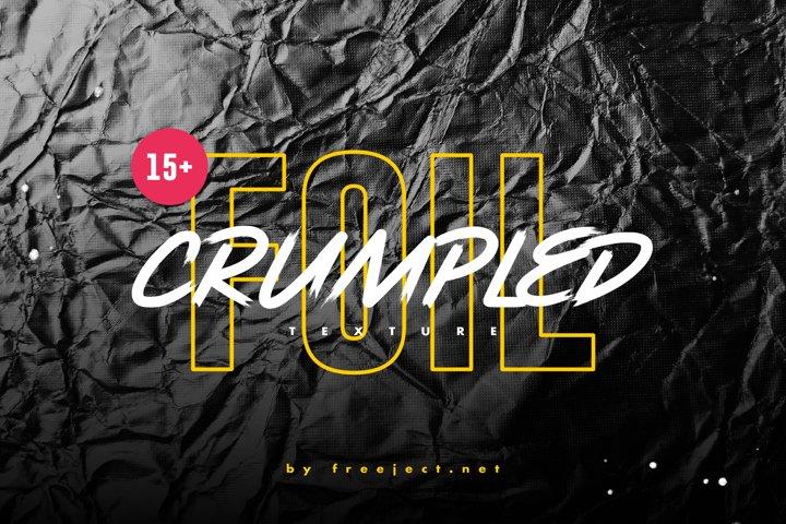 15 Crumpled Foil Texture