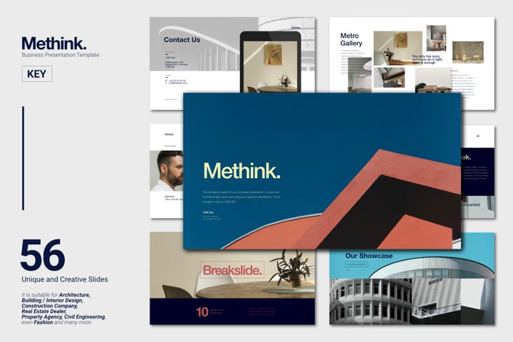 Methink Creative Business Presentation Keynote