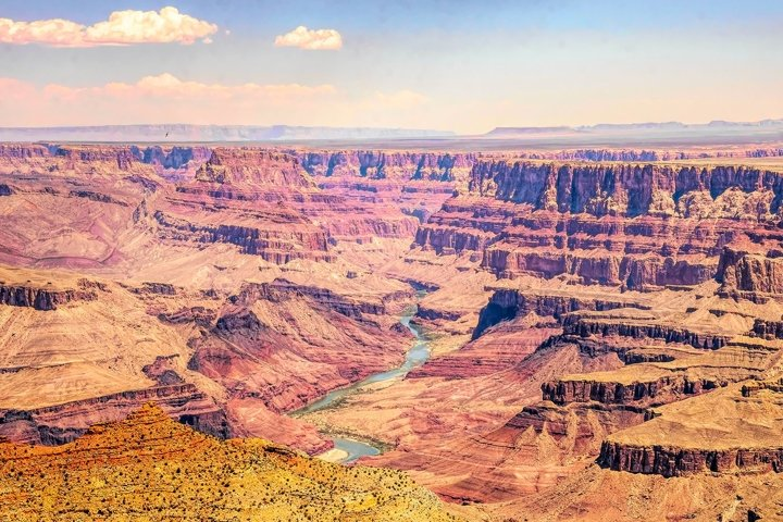 Landscape of the Grand Canyon in Arizona, USA