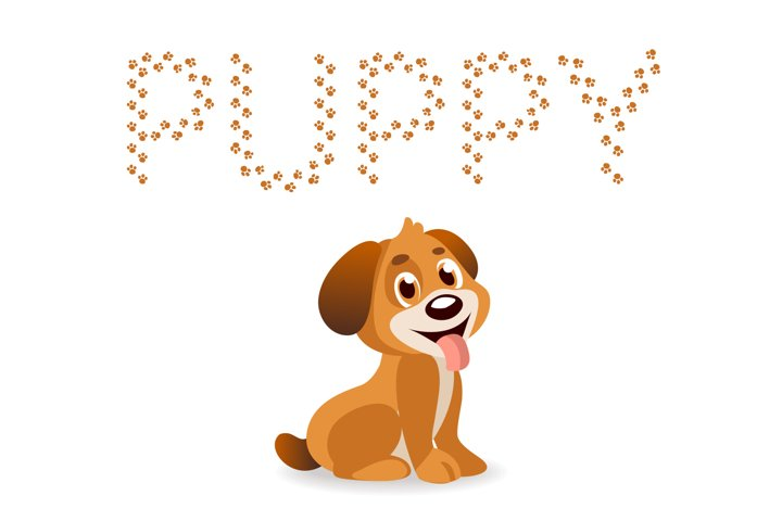 Puppy Paw - Dog Font