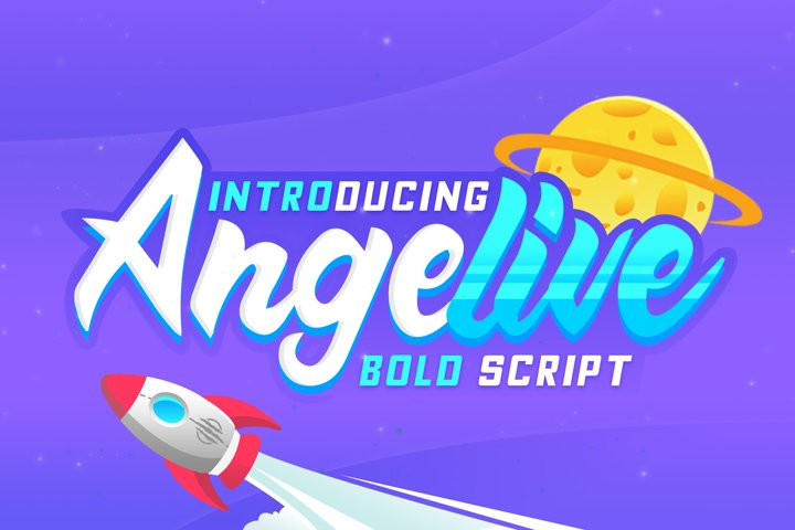 Angelive Bold Script