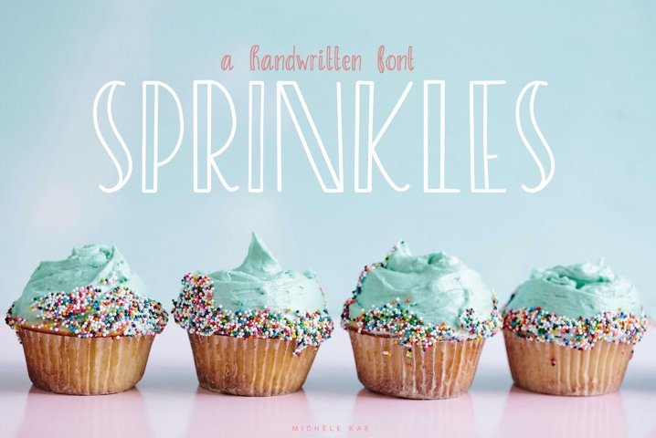 Sprinkles, A sweet and playful font